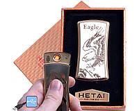 Запальничка електронна USB з зарядкою 4815-3