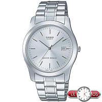 Мужские наручные часы Casio MTP-1141PA-7AEF, Оригинал. Кварцевые стальные часы.