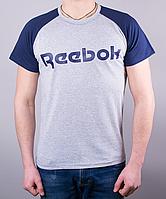 Крутая мужская футболка-реглан Reebok