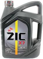 Моторное масло ZIC X7 LS 10W - 40 4л.(Ю.Корея).