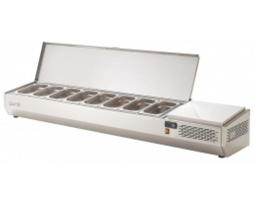 Витрина холодильная Asber EVL-204,