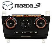 Блок управления климатической установкой Mazda 3 BK