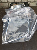 Накладки на задние фонари хром Шевроле Лачетти (AUTOCLOVER)