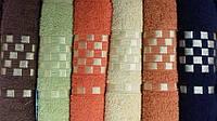 Качественное махровое полотенце Akna, цвета и размеры в ассортименте