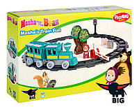Конструктор в коробке 32 детали Маша и Медведь BIG 57095