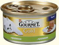 Purina Gourmet Gold паштет с кроликом 85 г.