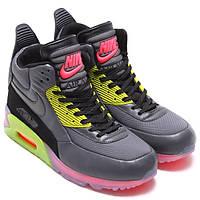 Кроссовки мужские Nike Air Max 90 SneakerBoot Ice (Оригинал), кроссовки найк аир макс 90 серые