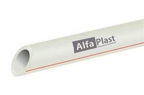 Труба pp-r для воды ду25 Pn 20 Alfa Plast
