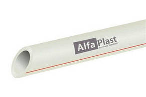 Труба pp-r для воды ду32 Pn 20 Alfa Plast