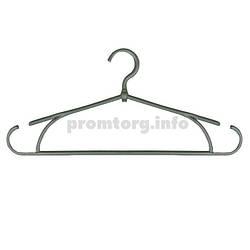 Плечики для одежды поворотные 40 см серый