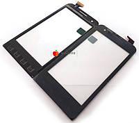 Тачскрин (сенсор) для Prestigio PAP4040 DUO MultiPhone, чёрный оригинал