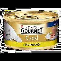Purina Gourmet Gold паштет с курицей  85 г.