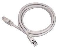 Патч-корд 0.25 м, UTP, Grey, Cablexpert, литой, RJ45, кат.5е / PP12-0.25M