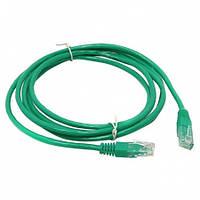 Патч-корд 1.0 м, FTP, Green, Cablexpert, литой, RJ45, кат.6е / PP6-1M/G