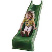 Детская горка пластиковая 3 м (Бельгия) Зеленая  , фото 1