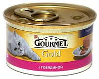 Purina Gourmet Gold паштет с говядиной  85 г.