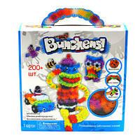 Детский развивающий конструктор-липучка (Bunchems) на 200 деталей