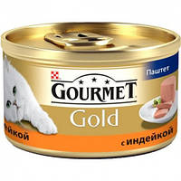Purina Gourmet Gold паштет с индейкой  85 г.