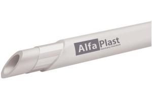 Труба для отопления ду32 армированная алюминием Alfa Plast
