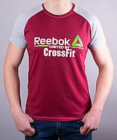 """Модная мужская футболка-реглан """"Reebok Crossfit 1212 """""""