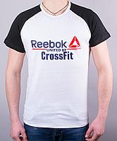 """Стильная мужская футболка-реглан """"Reebok Crossfit 1212 """""""