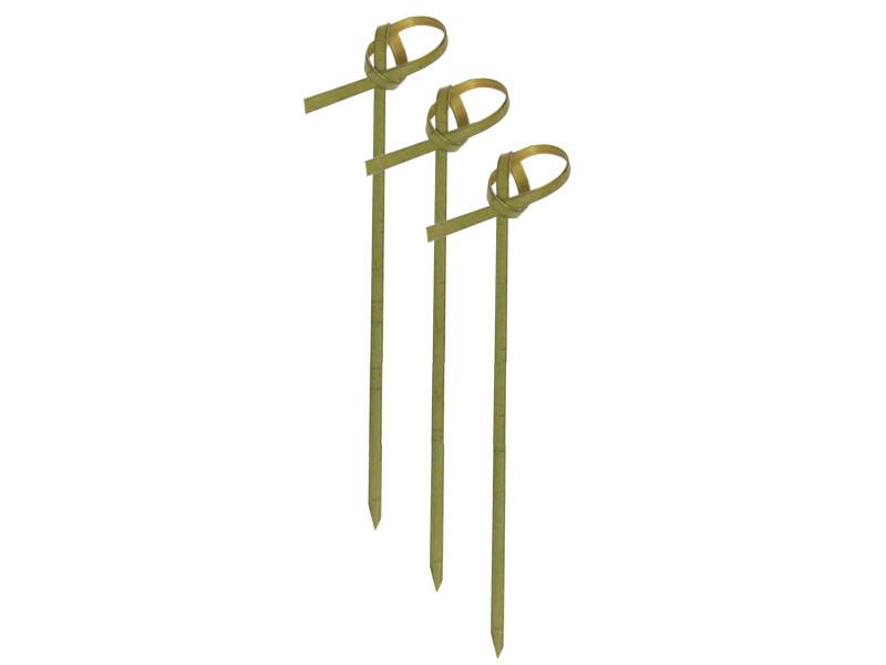 Шпажки бамбуковые с узелком 9 см для фуршета (100 шт/уп)