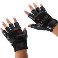 Перчатки беспалые для занятий спортом, фото 1