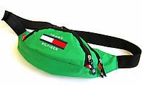 Поясная сумка Tommy Hilfiger зеленый