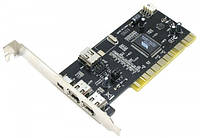 Контроллер PCI 4xFirewire (IEEE 1394) VIA chip Atcom