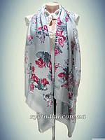 Турецкие шарфы Юность, серый