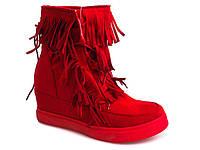 Женские сникерсы Lavada красного цвета