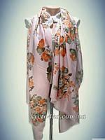 Турецкие шарфы Юность, персиковый