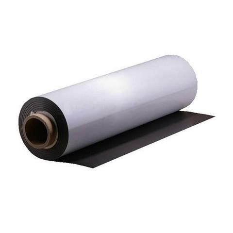 Магнитный винил с клейкой поверхностью, толщина 0.4мм