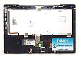 Оригинальная клавиатура для ноутбука Sony Vaio VPC-SB series, black, ru, подсветка, передняя панель, фото 2