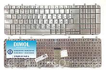 Оригинальная клавиатура для ноутбука HP Pavilion DV7 DV7-1020 series, rus, silver