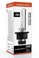 """Оригинальная штатная ксеноновая газоразрядная лампа """"INFOLIGHT"""" D2S (5000K)(+50%), фото 1"""