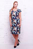 Платье из поплина батал с 54 по 60 размер