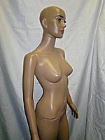Манекен женский реалистичный в полный рост макияж
