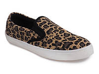 Леопардовые женские слипоны