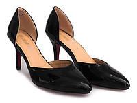 Женские туфли на удобном каблуке