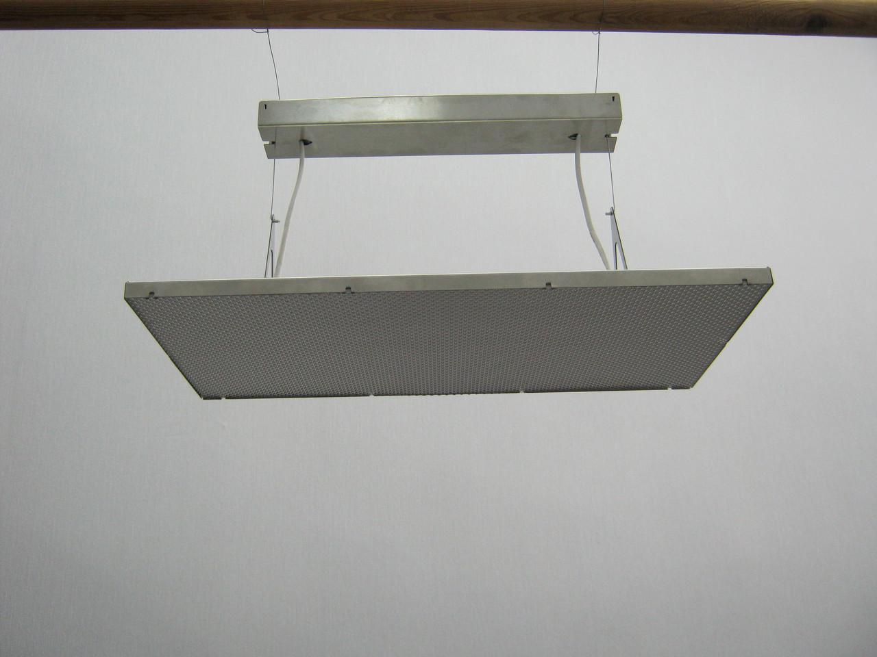 Подвесная светодиодная панель led на подвесах