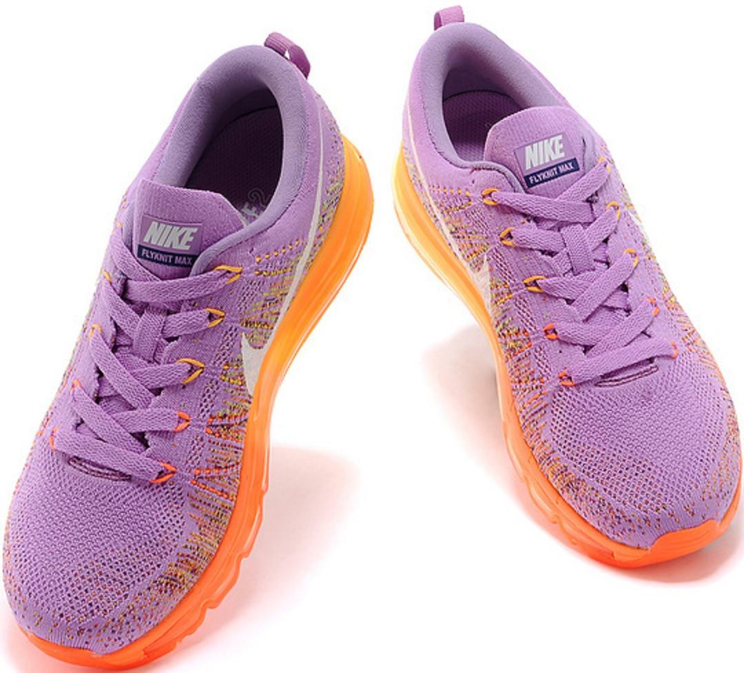 ... Кроссовки женские Nike Air Max Flyknit РurpleОrange - ТЕХНОЛЮКС в  Запорожье lowest price 7d8cc 3d7e2 ... 78091b6a897
