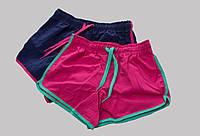 РАСПРОДАЖА! Спортивные плавательные шорты для девочки. Синие, р. 122/128.