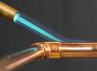 В каких случаях используют газ для пайки медных труб?