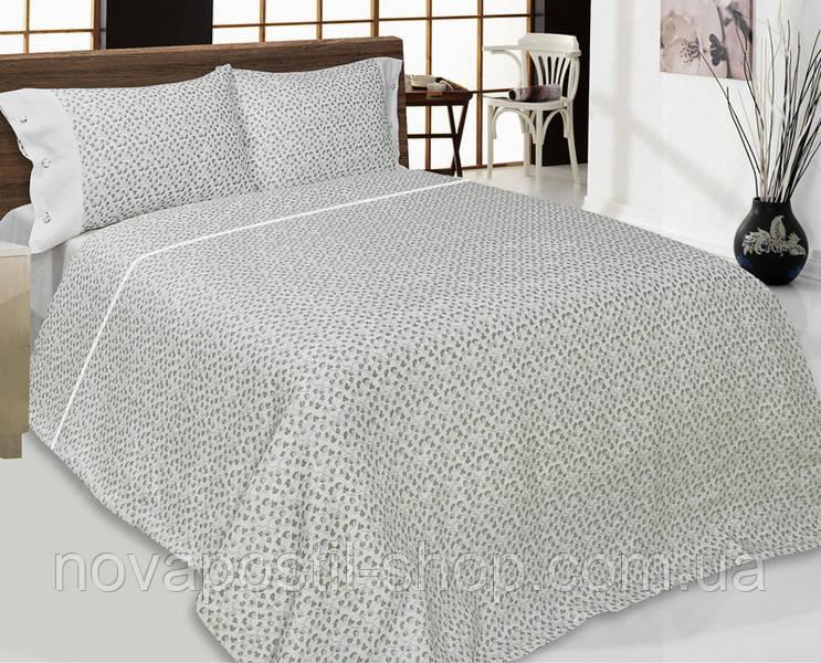 Комплект льняного постельного белья Чувственность полуторный