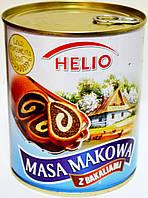 Мак с изюмом и орехами. Для наполнения тортов, и коржей Helio Masa Makowa z Bakaliami 850g.