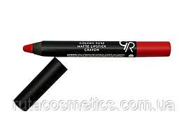 Матова помада, олівець для губ GOLDEN ROSE MATTE LIPSTICK CRAYON [07]