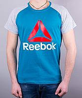 Прикольная мужская футболка-реглан Reebok Crossfit
