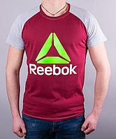 Качественная мужская футболка-реглан Reebok Crossfit