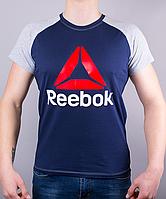 Красивая мужская футболка-реглан Reebok Crossfit